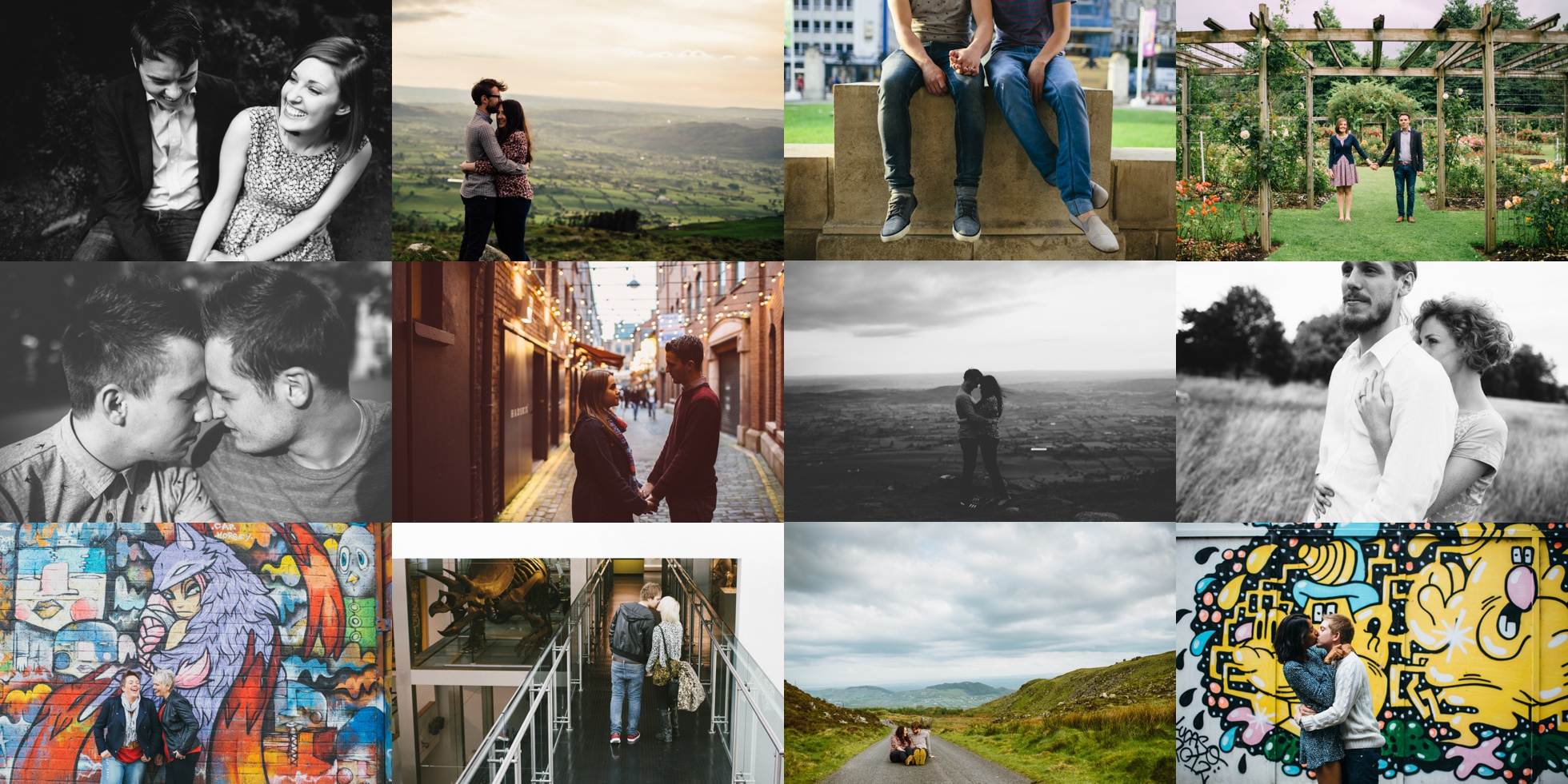 engagement photography couples photoshoots northern ireland packages prices information