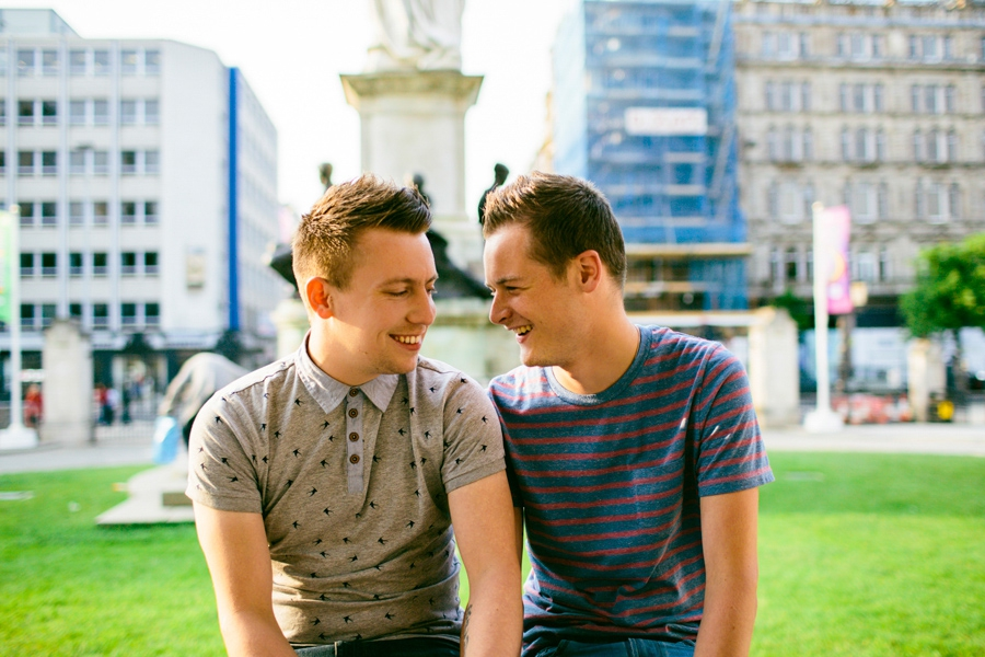 Civil Partnership Photography Ireland, engagement photography, Belfast City Hall.