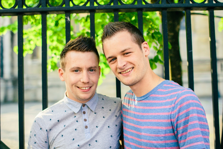 Gay Wedding Photography Ireland, engagement photoshoot, St Annes Cathedral, Belfast.