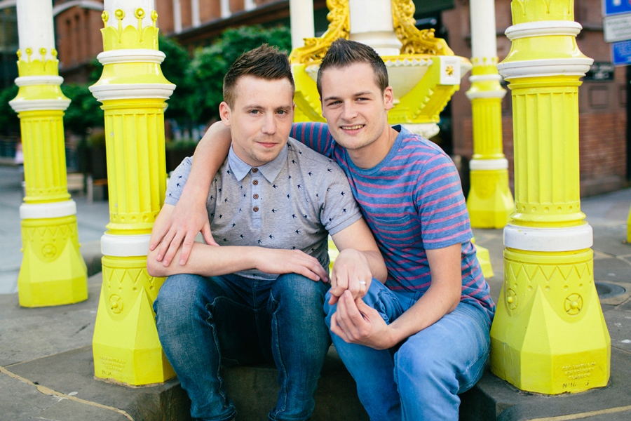 Wedding Photography Northern Ireland, engagement photoshoot, Band Stand, Victoria Square, Belfast, LGBT.