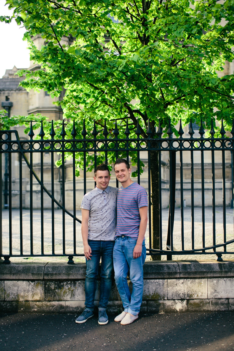 Wedding Photography Northern Ireland, engagement photoshoot, Saint Annes Cathedral, Belfast, LGBT.