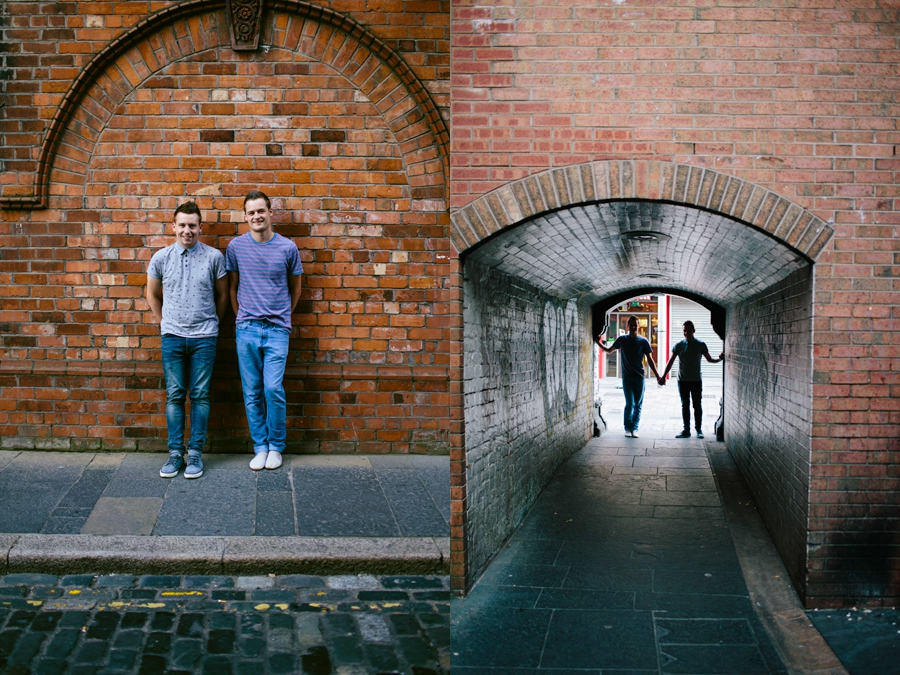 LGBT Wedding Photography Northern Ireland, engagement photoshoot, Cathedral Quarter, Belfast