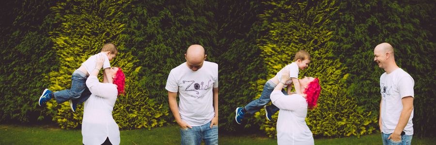 Alternative Family Photographer Northern Ireland