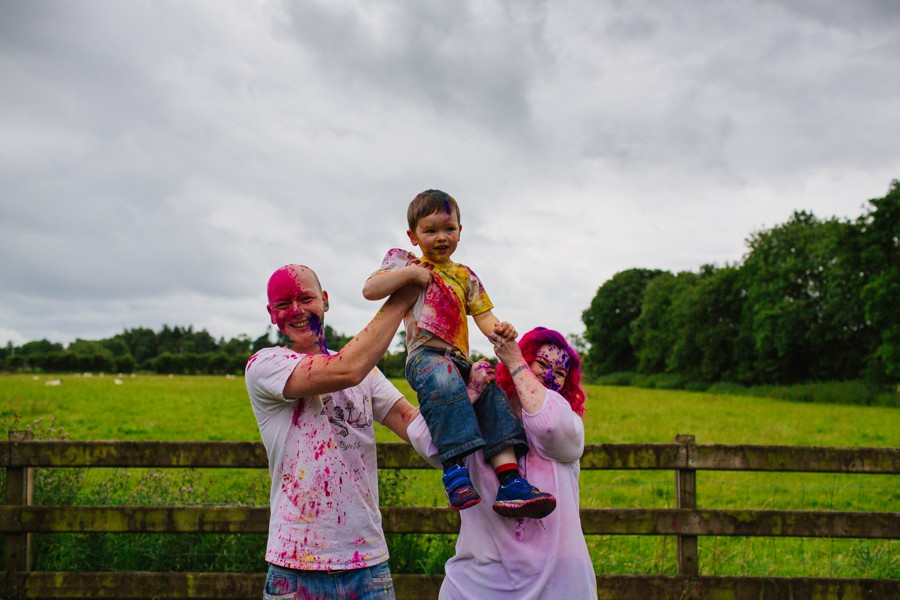Alternative Family Portraiture Northern Ireland