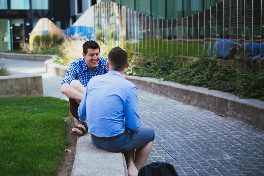 Gay Wedding Photographer Northern Ireland, civil union engagement photoshoot, County Dublin, Ireland.