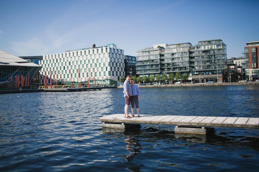 Alternative Couples Photoshoot Dublin Quay LGBT