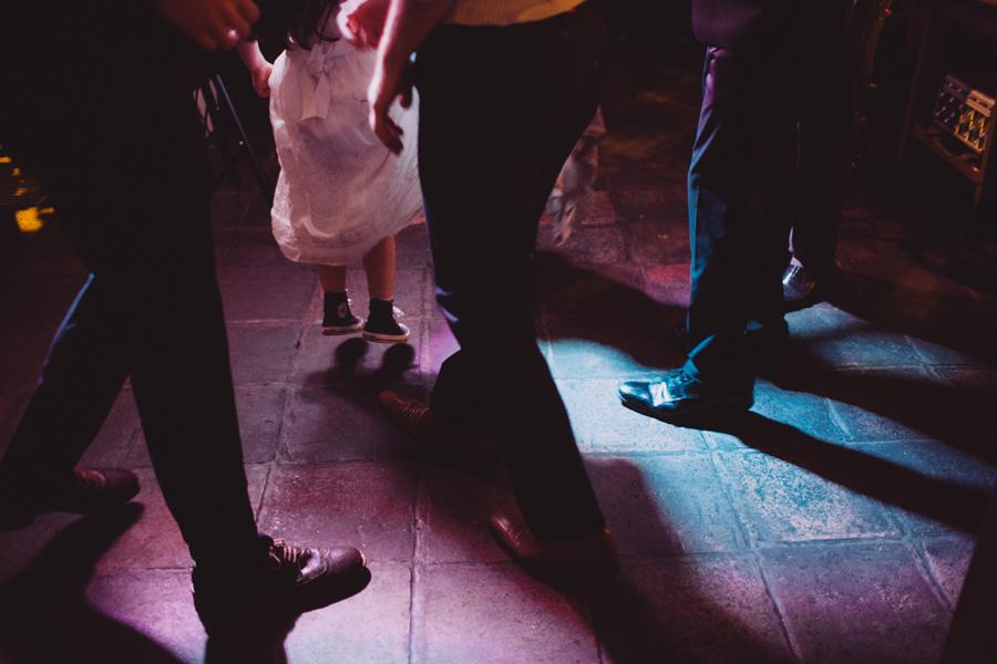 Wedding Photography Northern Ireland, people dancing at wedding reception, Barking Dog, Belfast