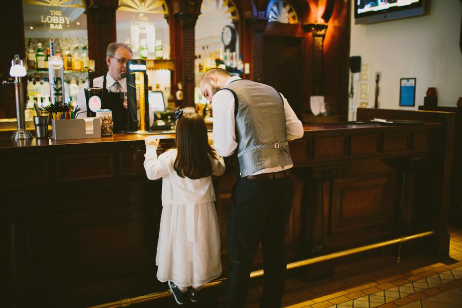Europa Hotel Wedding Photography Northern Ireland, the lobby bar, europa hotel, belfast.