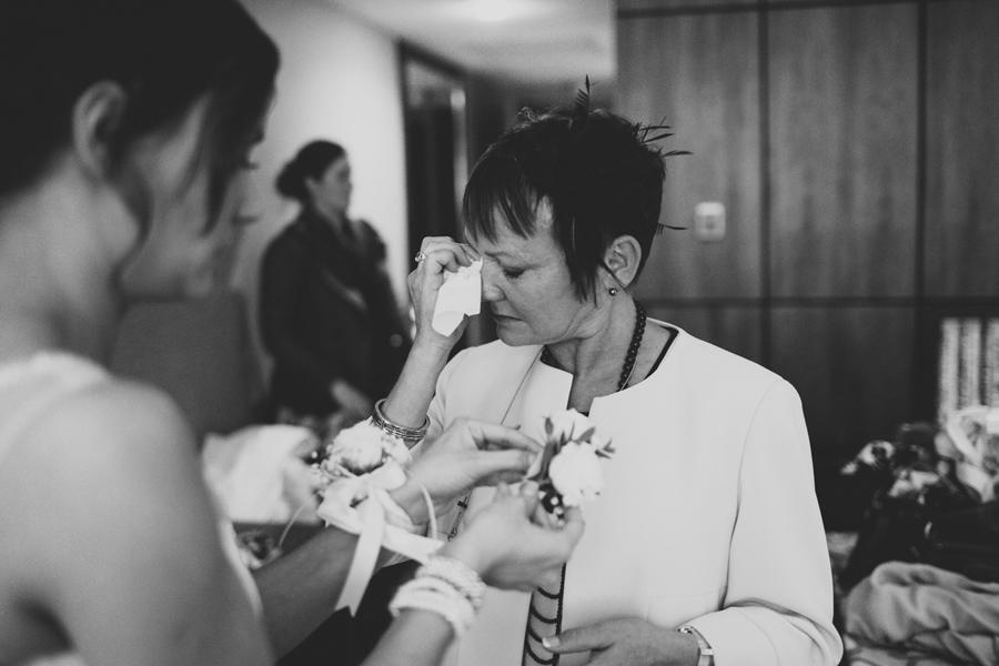 Wedding Photography Northern Ireland, mother of the bride crying, Europa Hotel, Belfast, Northern Ireland.