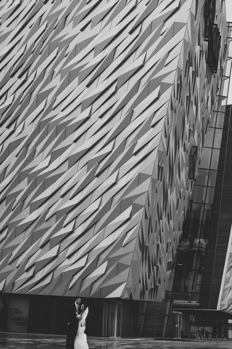 Titanic Wedding Photography Northern Ireland, Titanic Museum, Titanic Quarter, Belfast., Ireland.