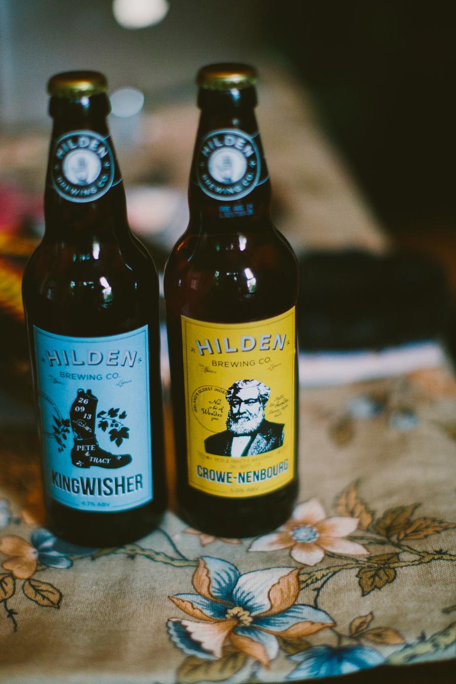 Wedding Photography Northern Ireland, Beer from Hilden Brewery, Lisburn Northern Ireland.