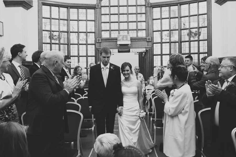Wedding Photography Northern Ireland, bride and groom, City Hall, Belfast.