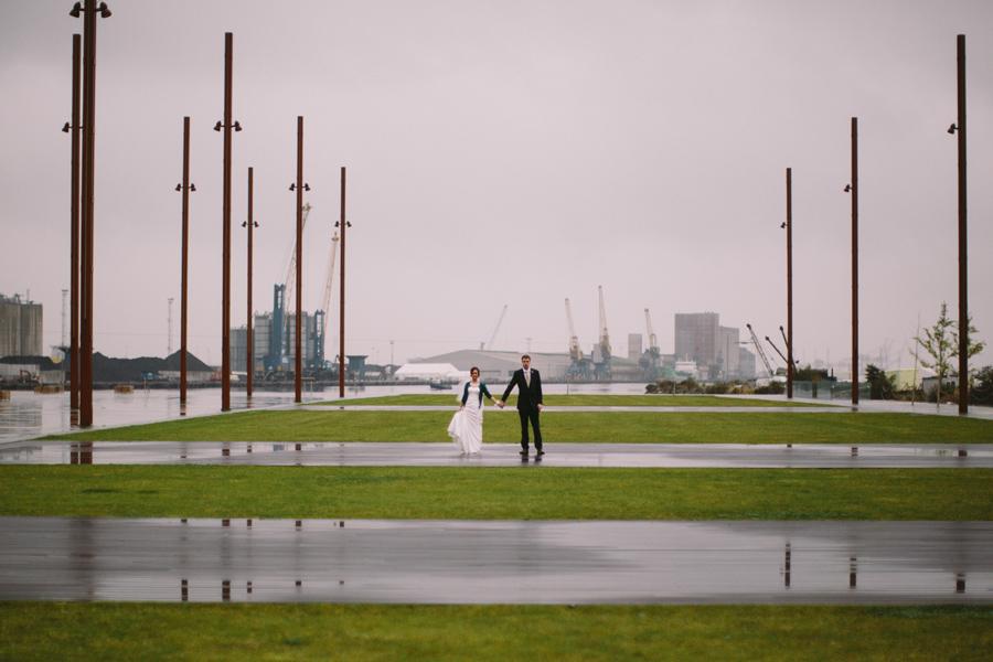 Wedding PhotographerNorthern Ireland, wedding portraits at Titanic Quarter, Belfast.