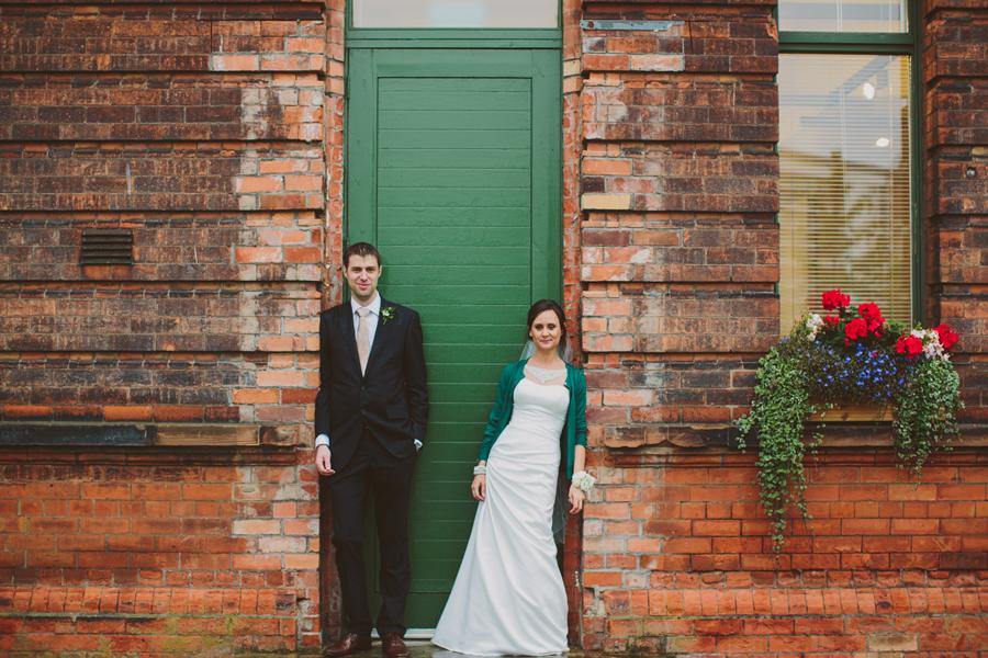 Alternative Wedding Photographer Northern Ireland, Titanic Quarter, Belfast