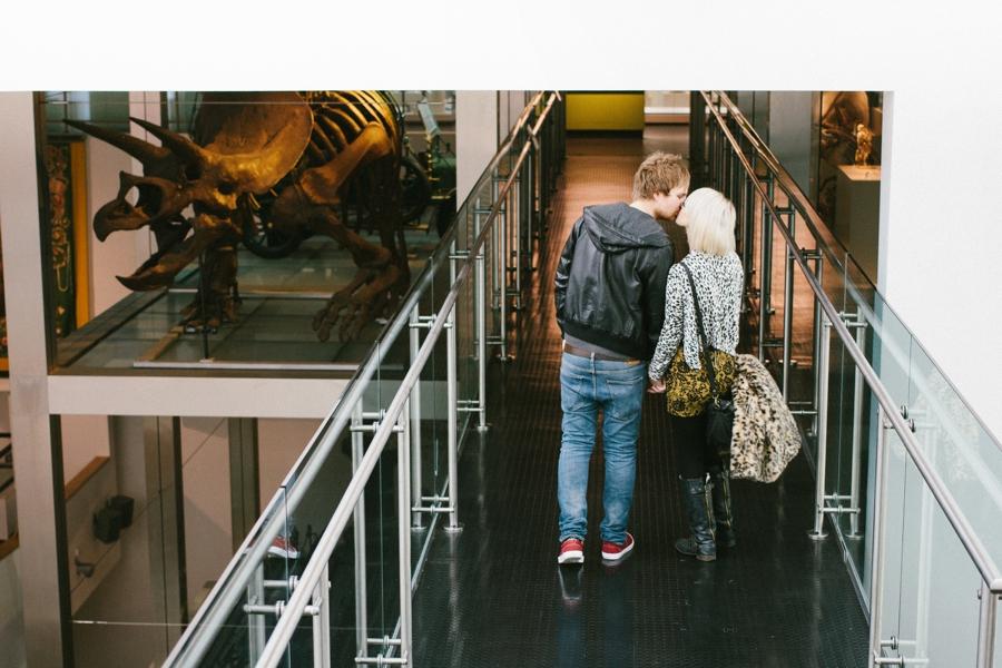 Wedding Photography Northern Ireland, engagement photoshoot Ulster Museum, Belfast.