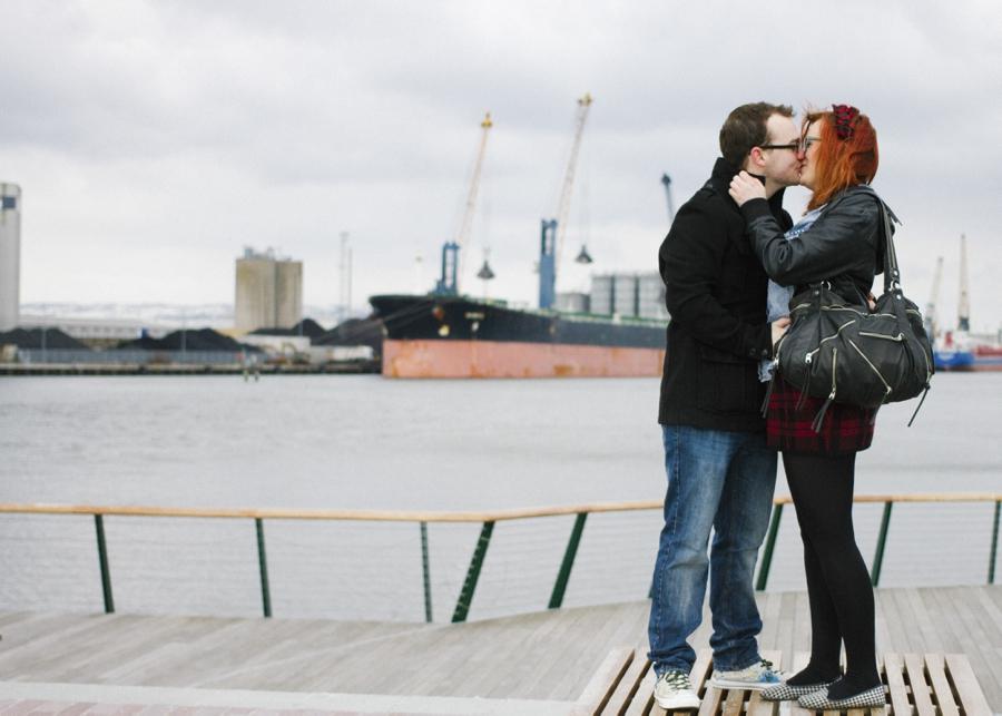 Wedding Photography Northern Ireland, engagement photoshoot at Dock Yard, Titanic Quarter, Belfast.