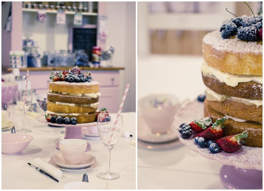 Wedding Photography Northern Ireland, naked wedding cake, Coleraine, County Antrim