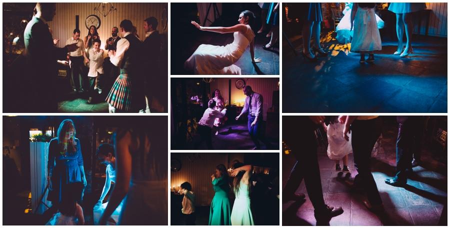 Wedding Photographer Northern Ireland, fun wedding photos, dancing at the wedding party, Barking Dog Rstaurant, Belfast.