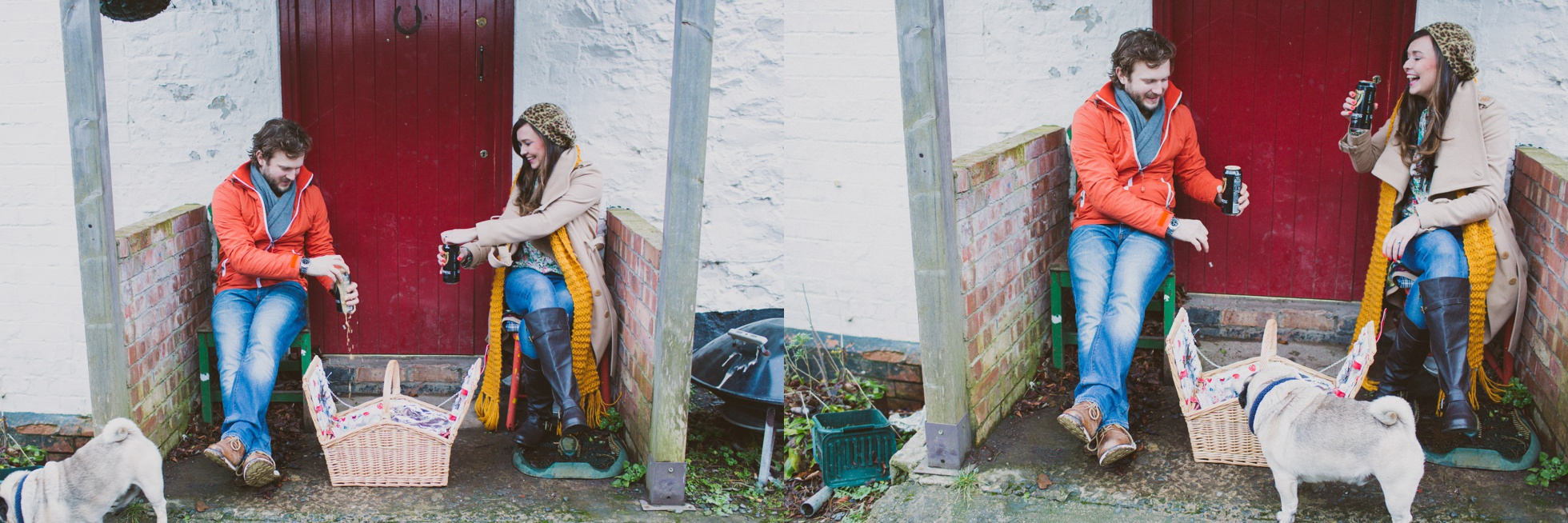 Allotment Engagement Photography Northern Ireland