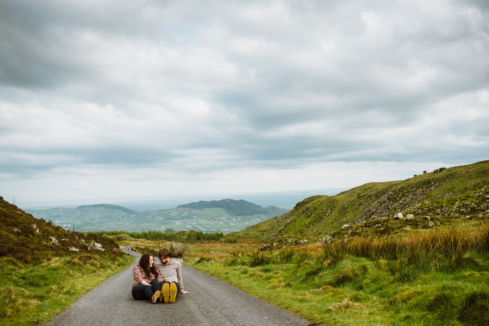 Engagement Photographer Ireland Mountains