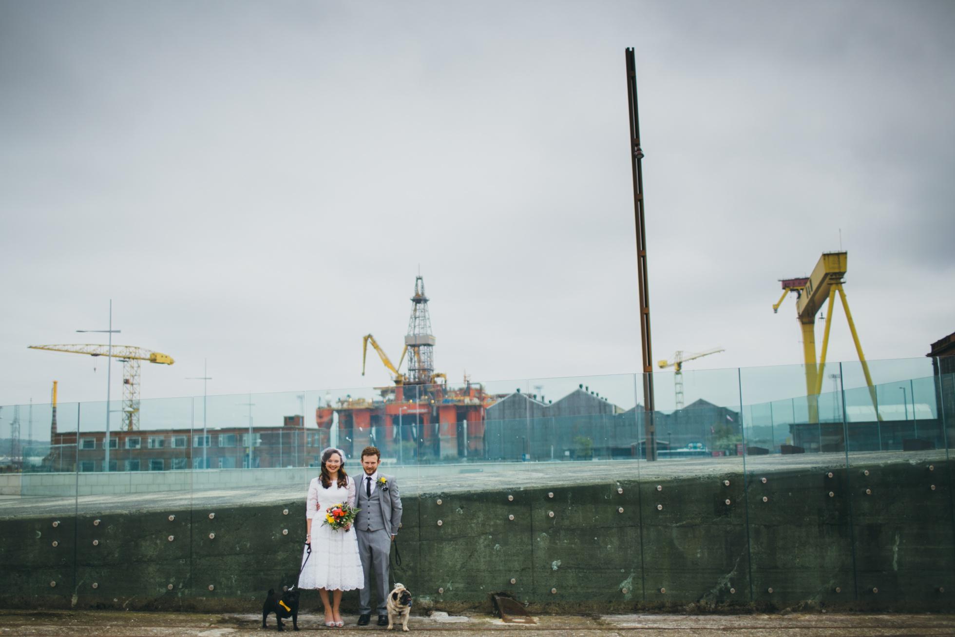 Titanic Quarter, wedding photographer northern ireland