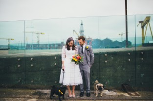 Titanic Quarter, wedding photographer northern ireland