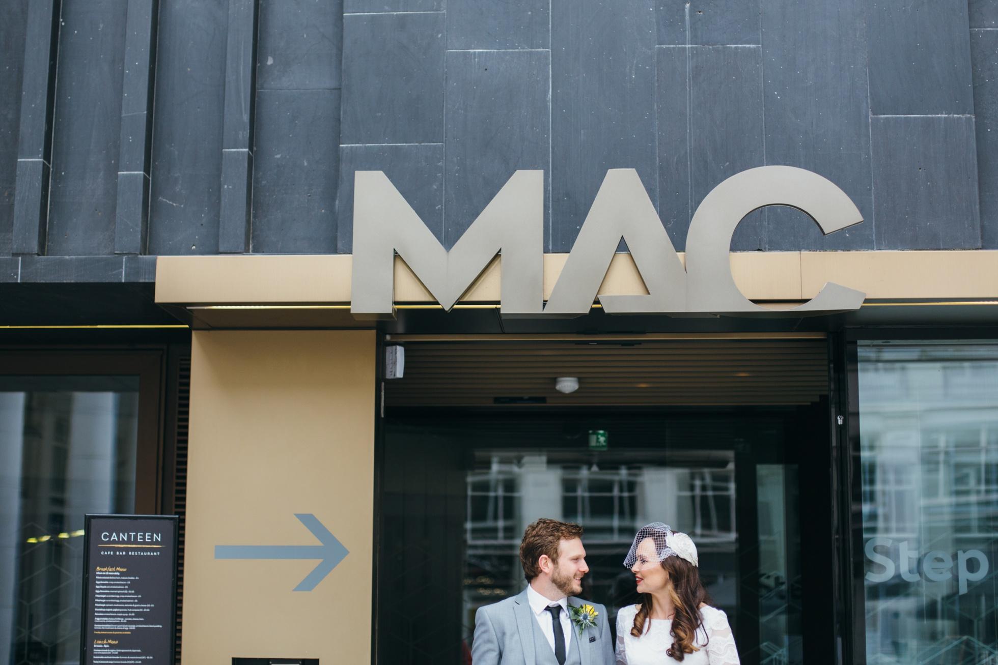 The MAC Belfast wedding photographer northern ireland