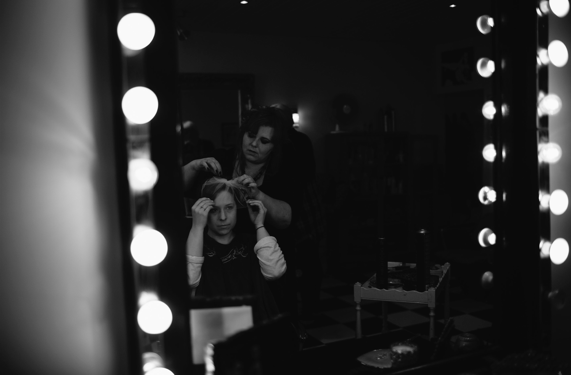 vintage rocks hair salon wedding photographer northern ireland