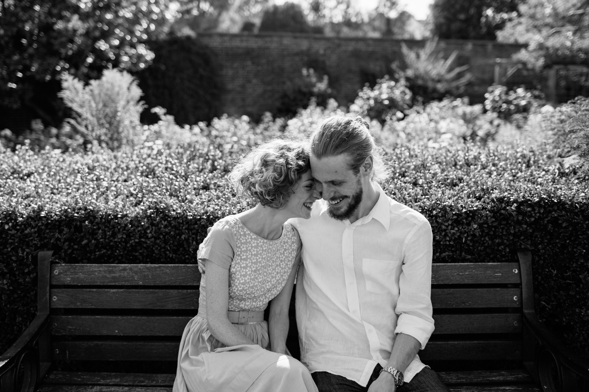 Brockwell Park, Brixton Engagement Photoshoot