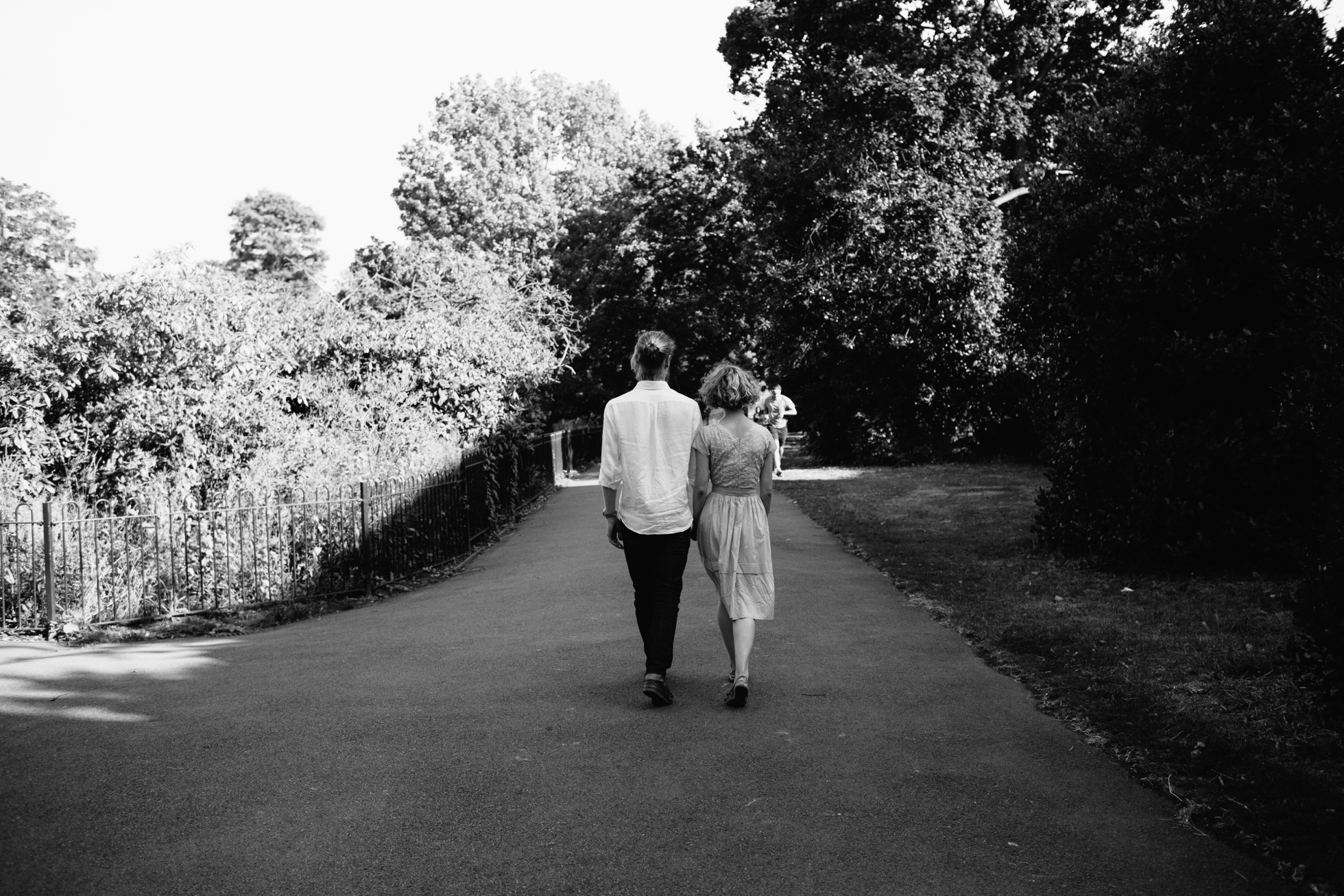 Alternative engagement photographer London