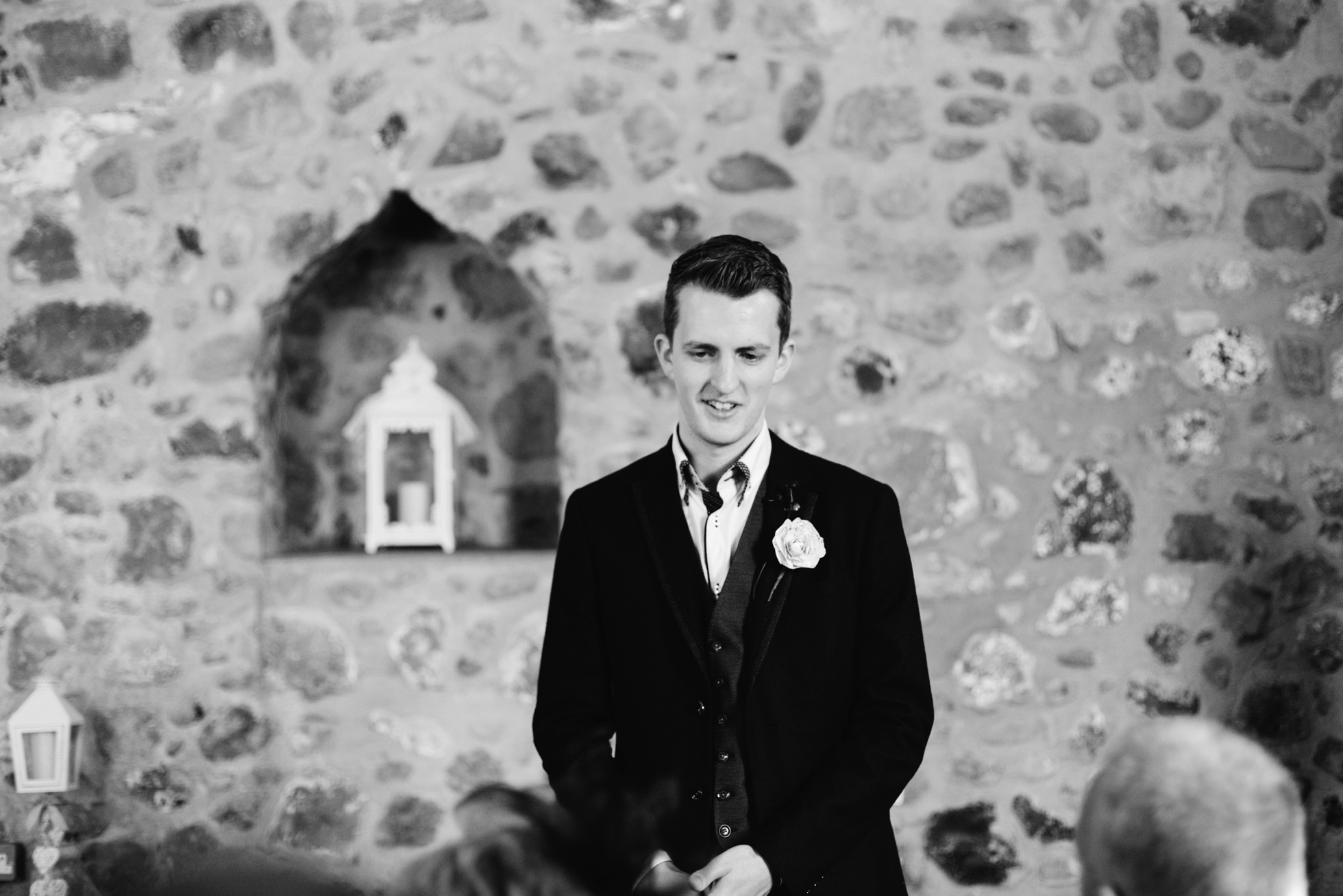 northern ireland wedding photography, black and white