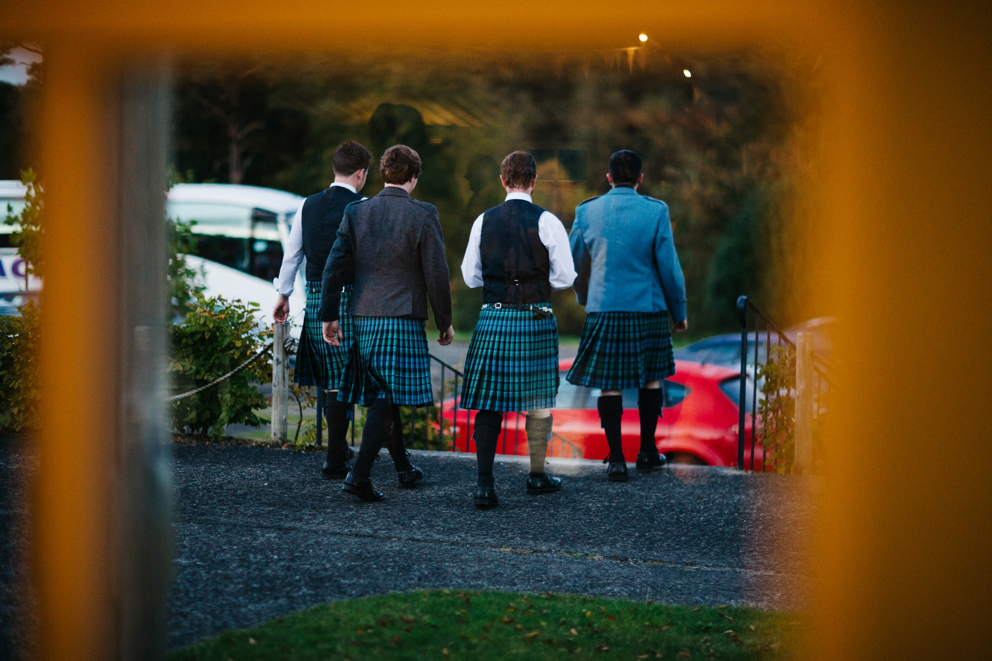 kilts at a wedding photography northern ireland