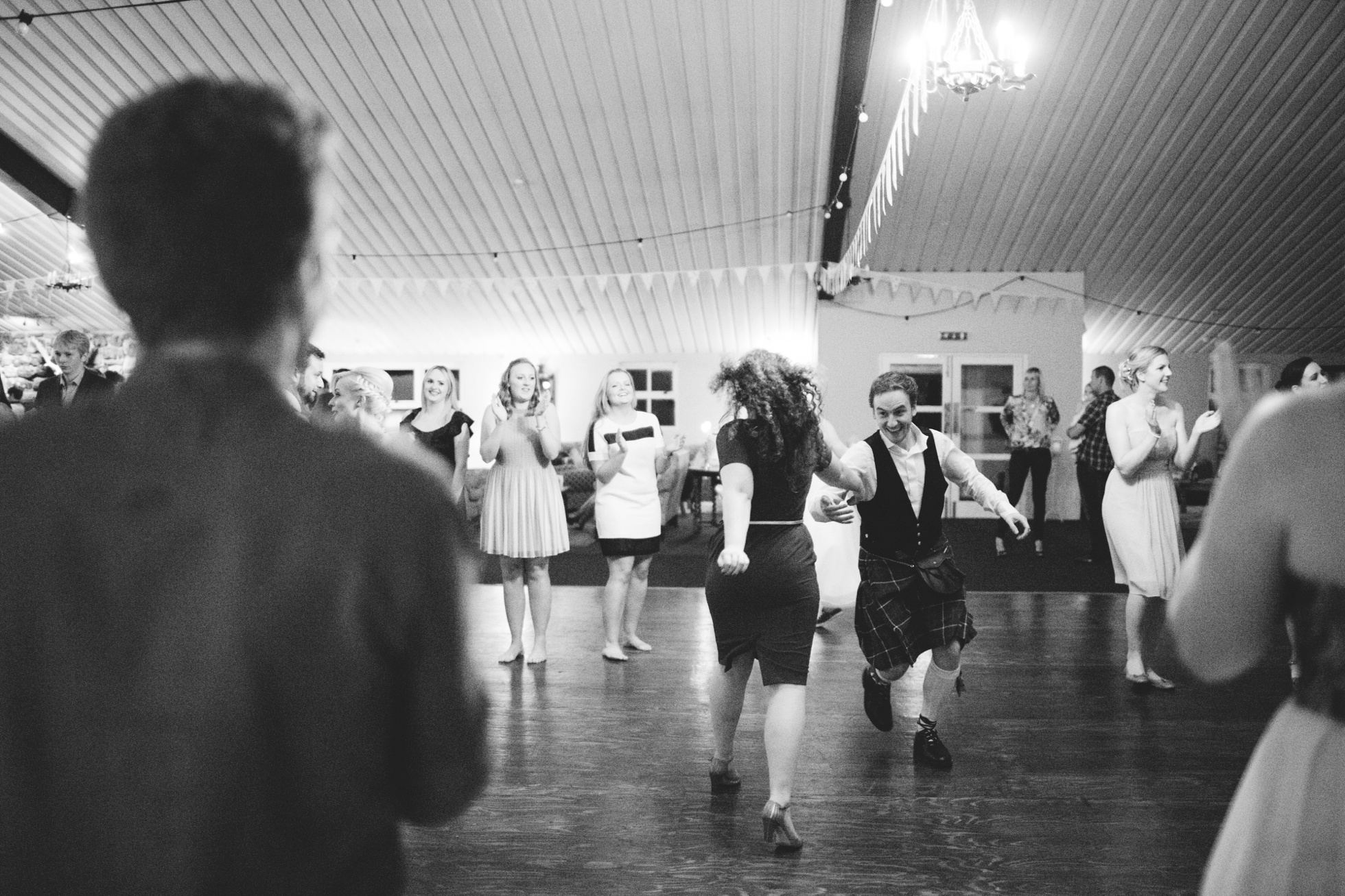 awesome ceilidh at Lissanoure Castle, wedding photography northern ireland