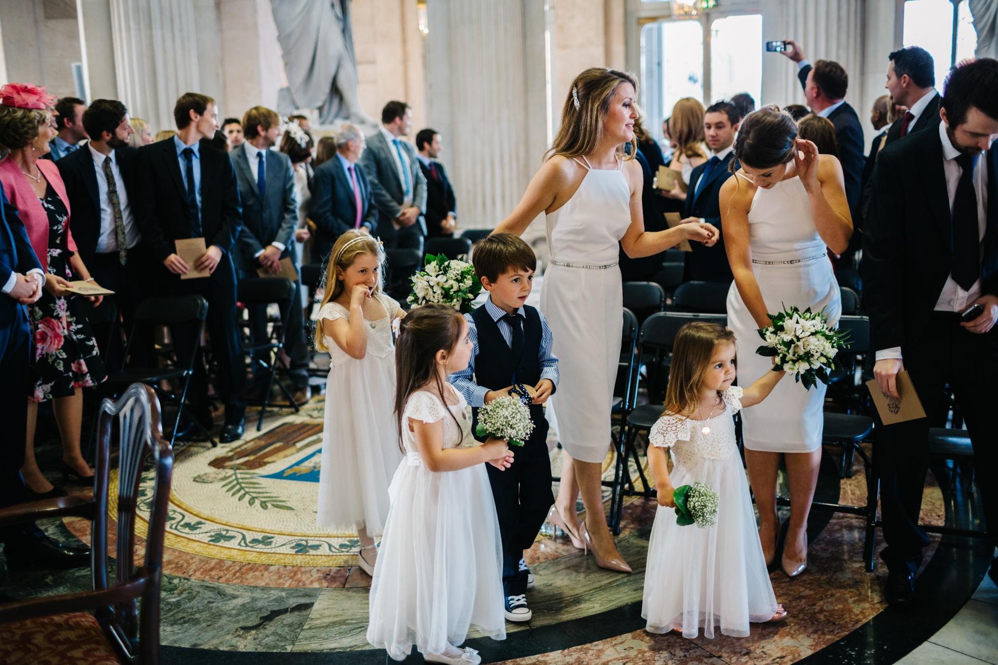 Irish wedding photography. Dublin city hall
