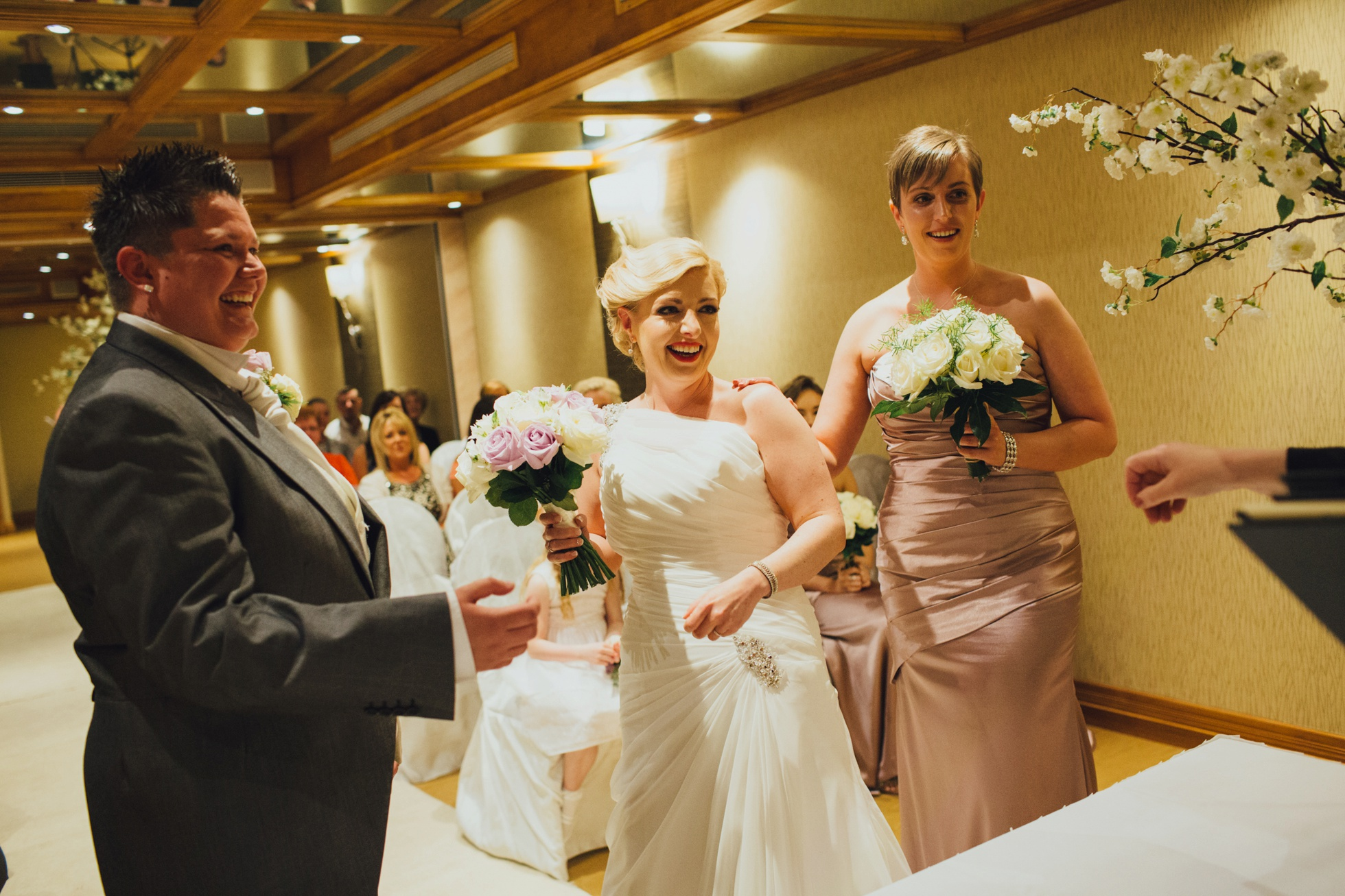 northern ireland lgbt wedding photographer