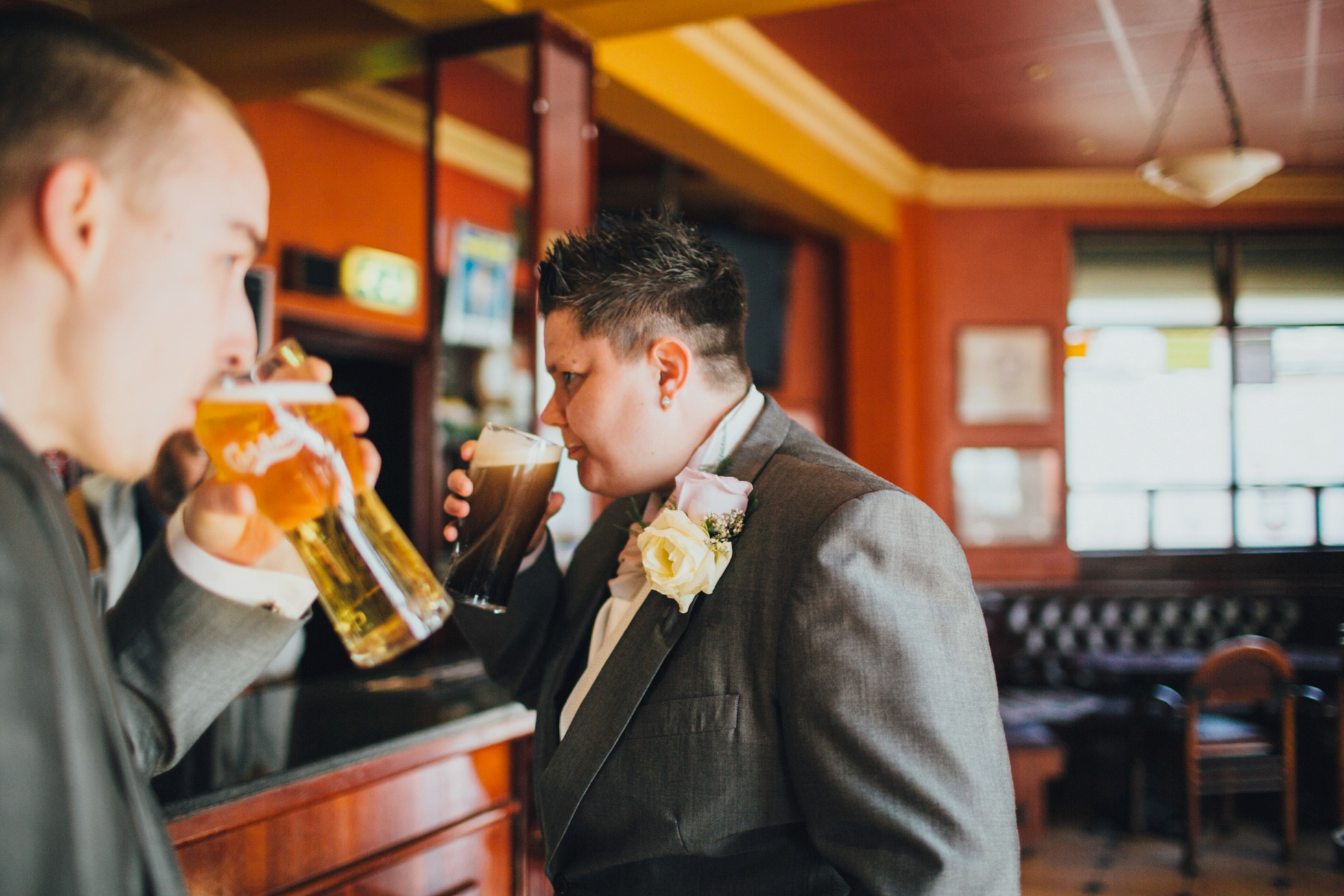 lesbian wedding photographer united kingdom