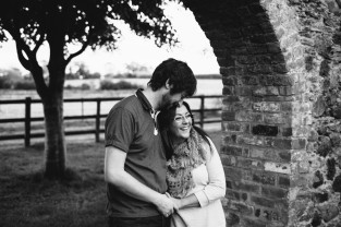 engagement photoshoot roe country park limavady