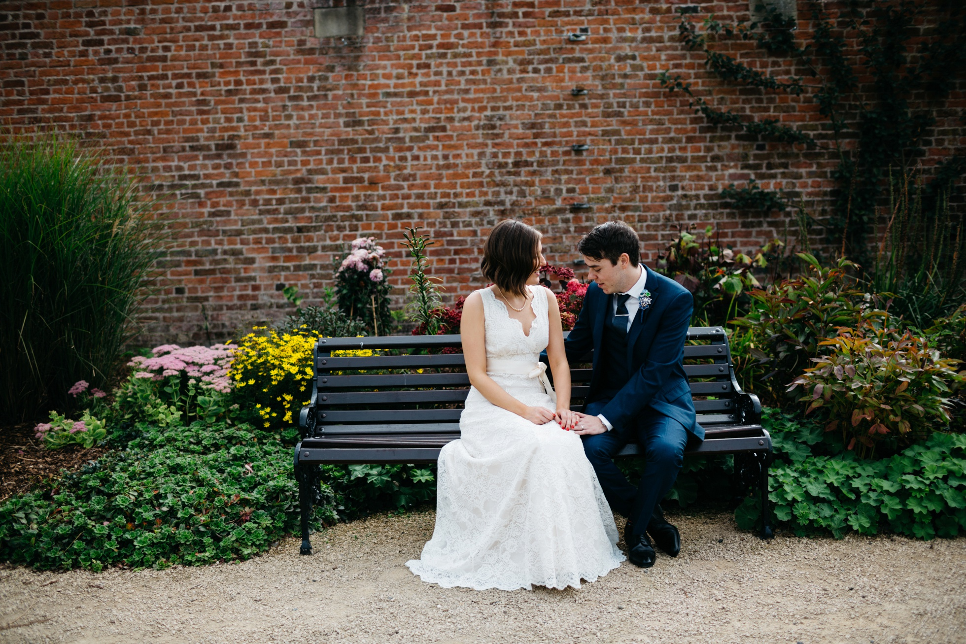 Walled gardens, Bangor wedding photography Northern Ireland