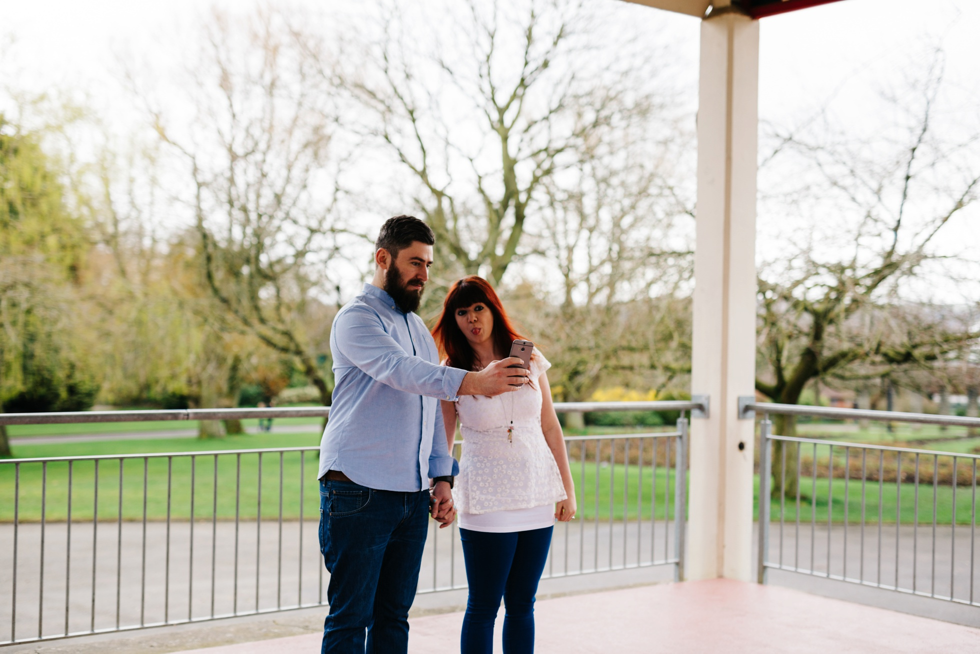 selfie engagement photography northern ireland