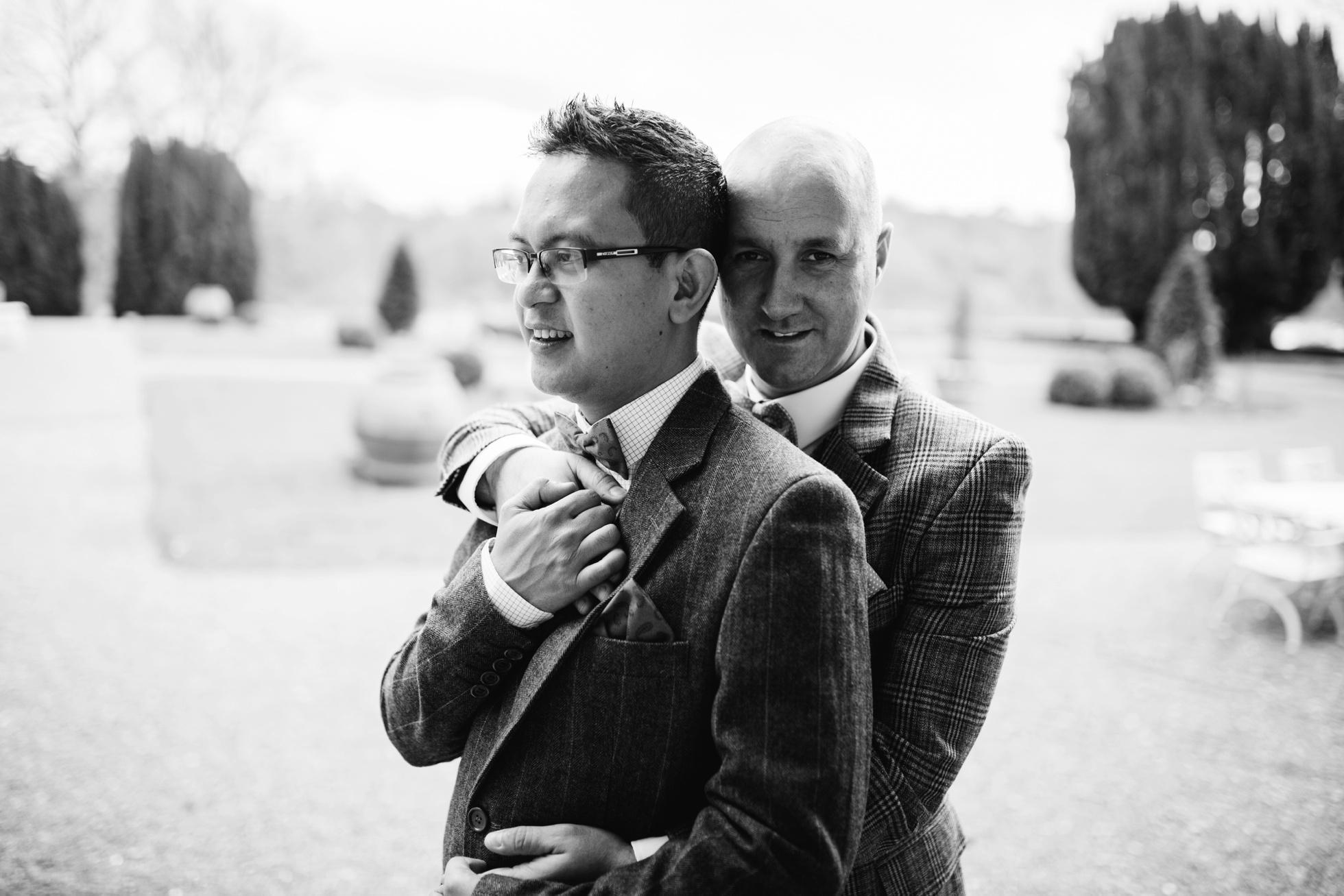 gay wedding portraits ireland