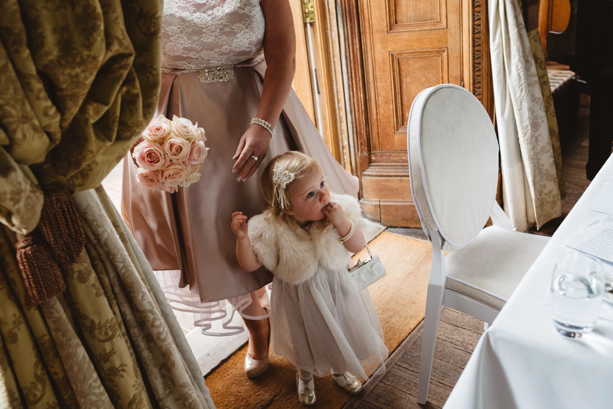 flower girl wedding photography ireland