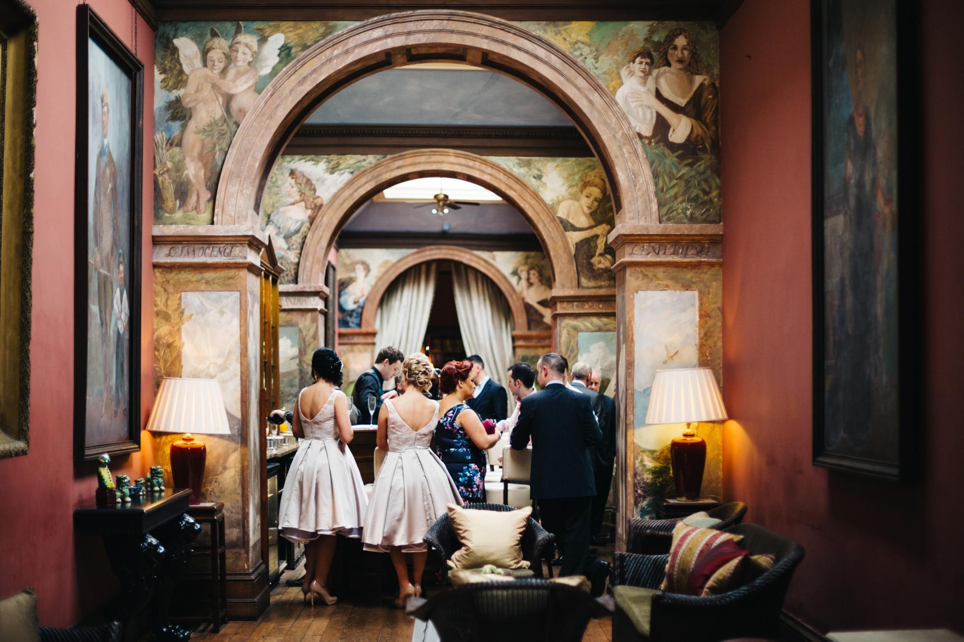 Castle Leslie, Monaghan, gay wedding photographer ireland