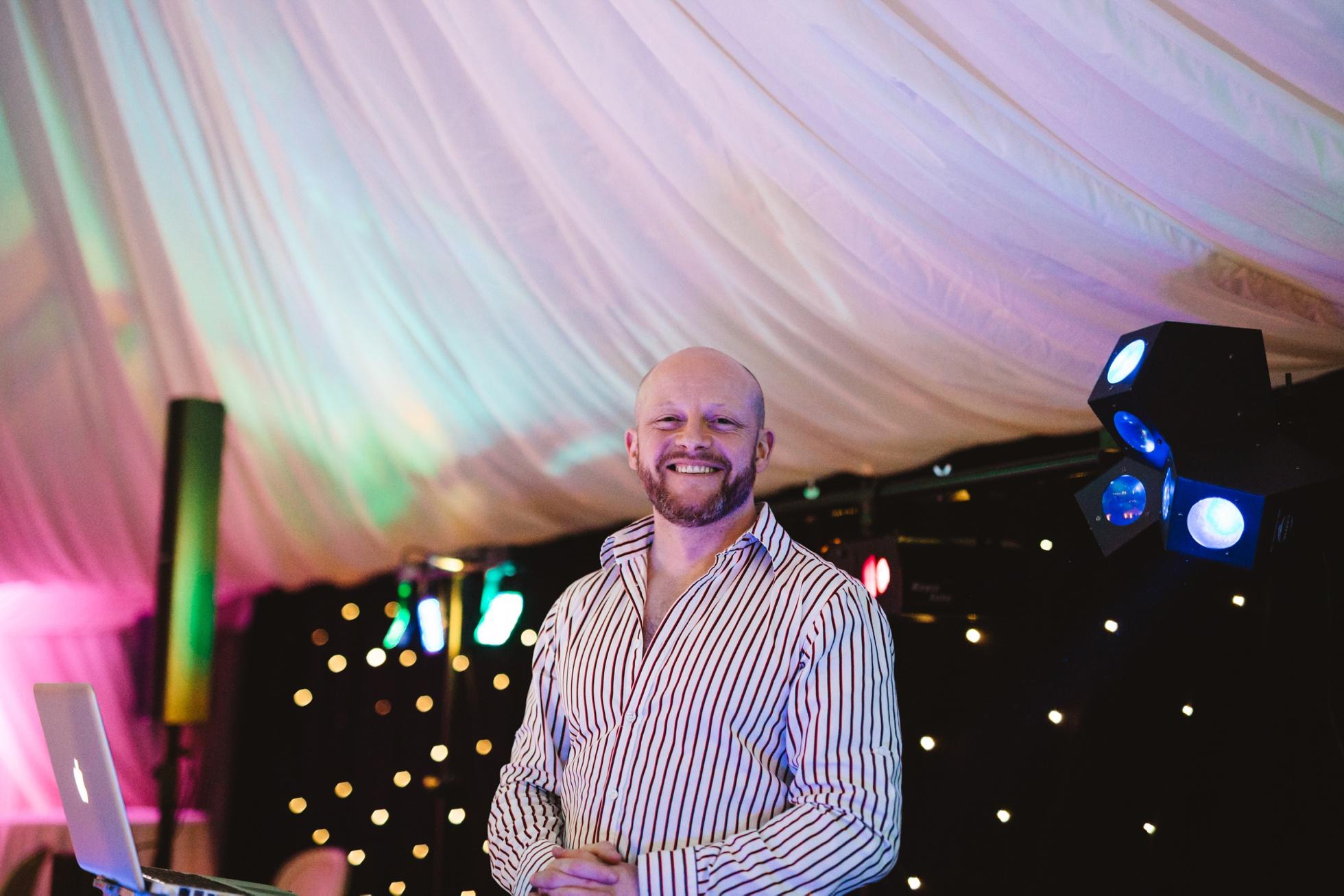 DJ Kenny K,gay wedding photographer ireland