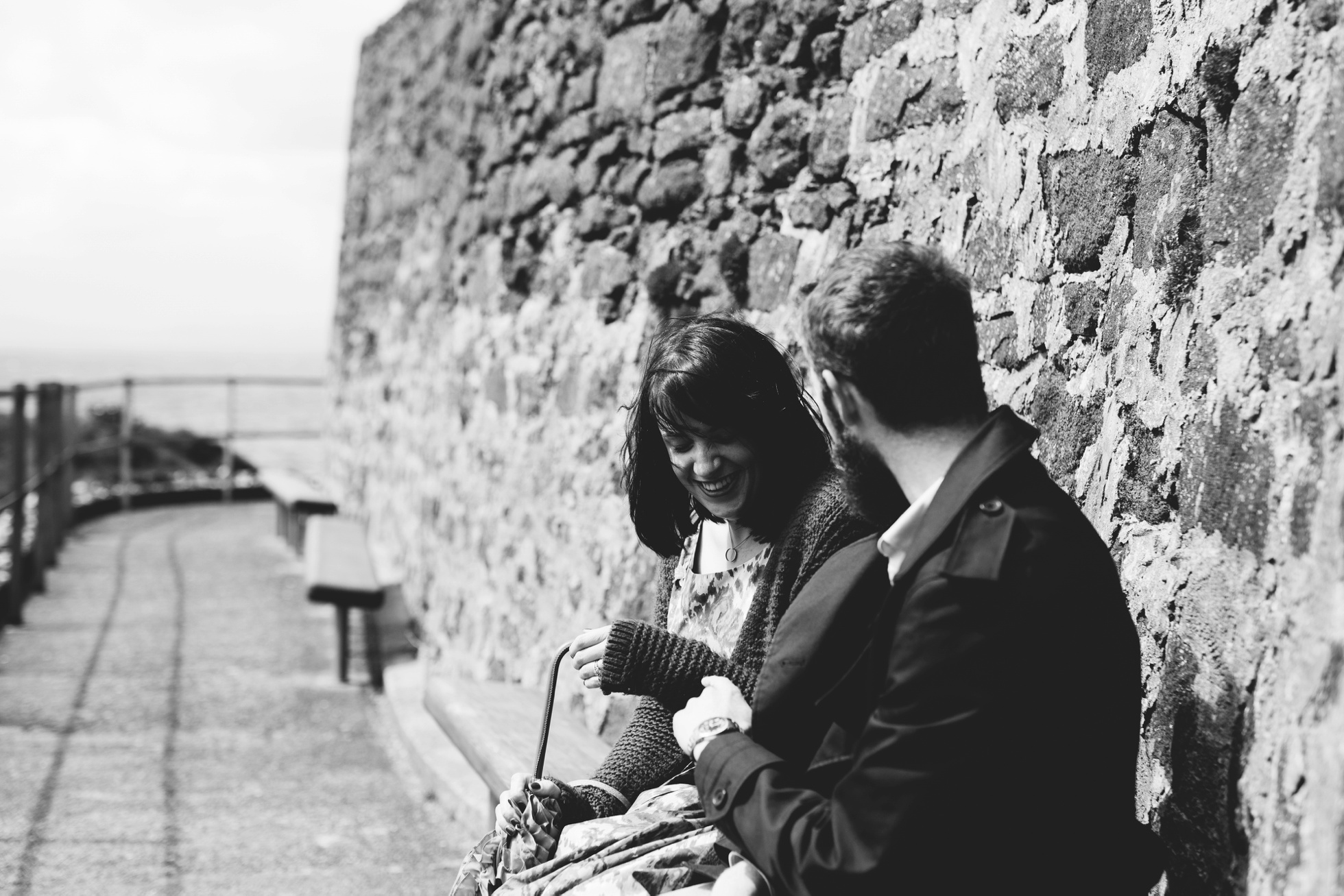 engagement photography north coast of ireland