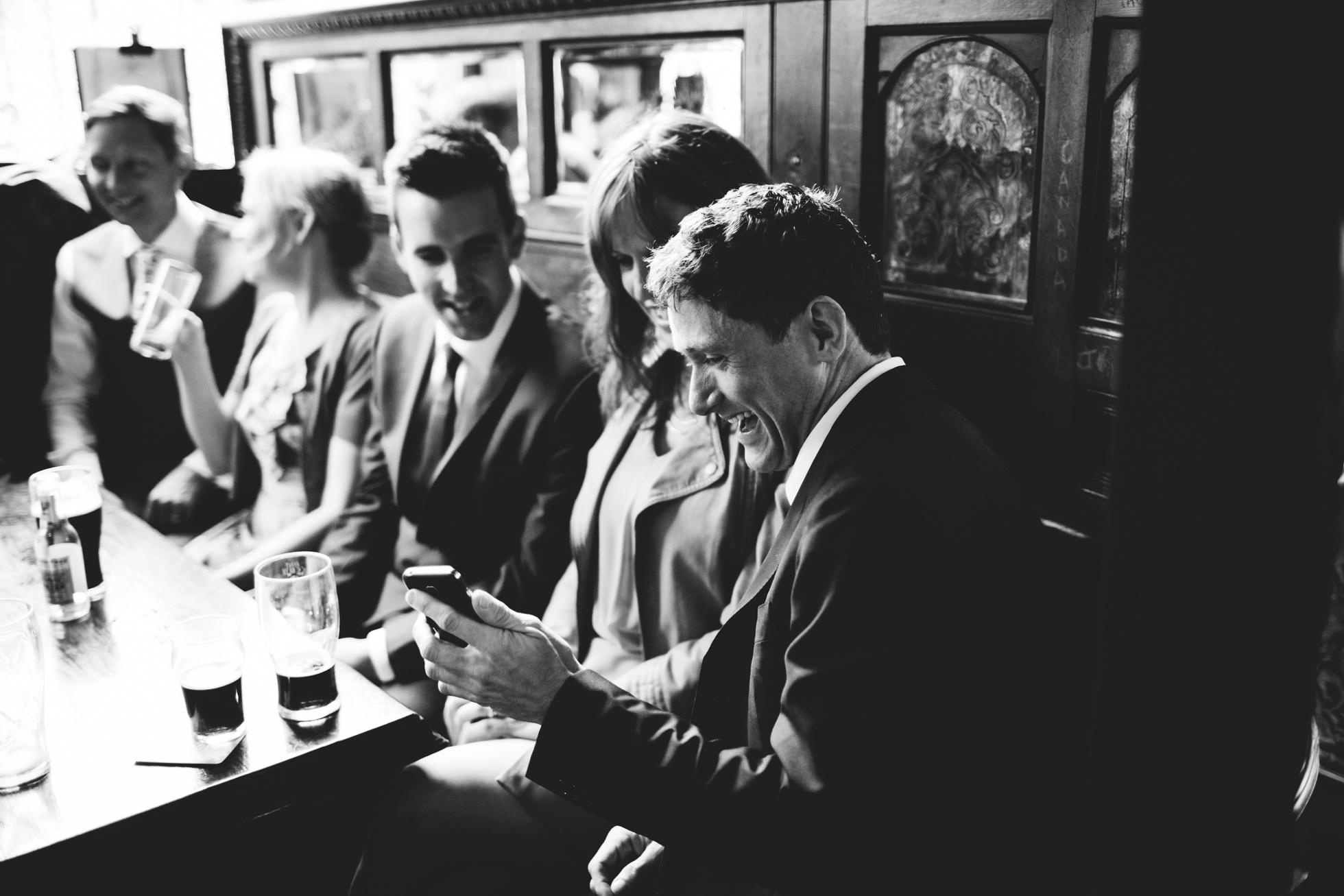 the crown bar belfast wedding photographer northern ireland
