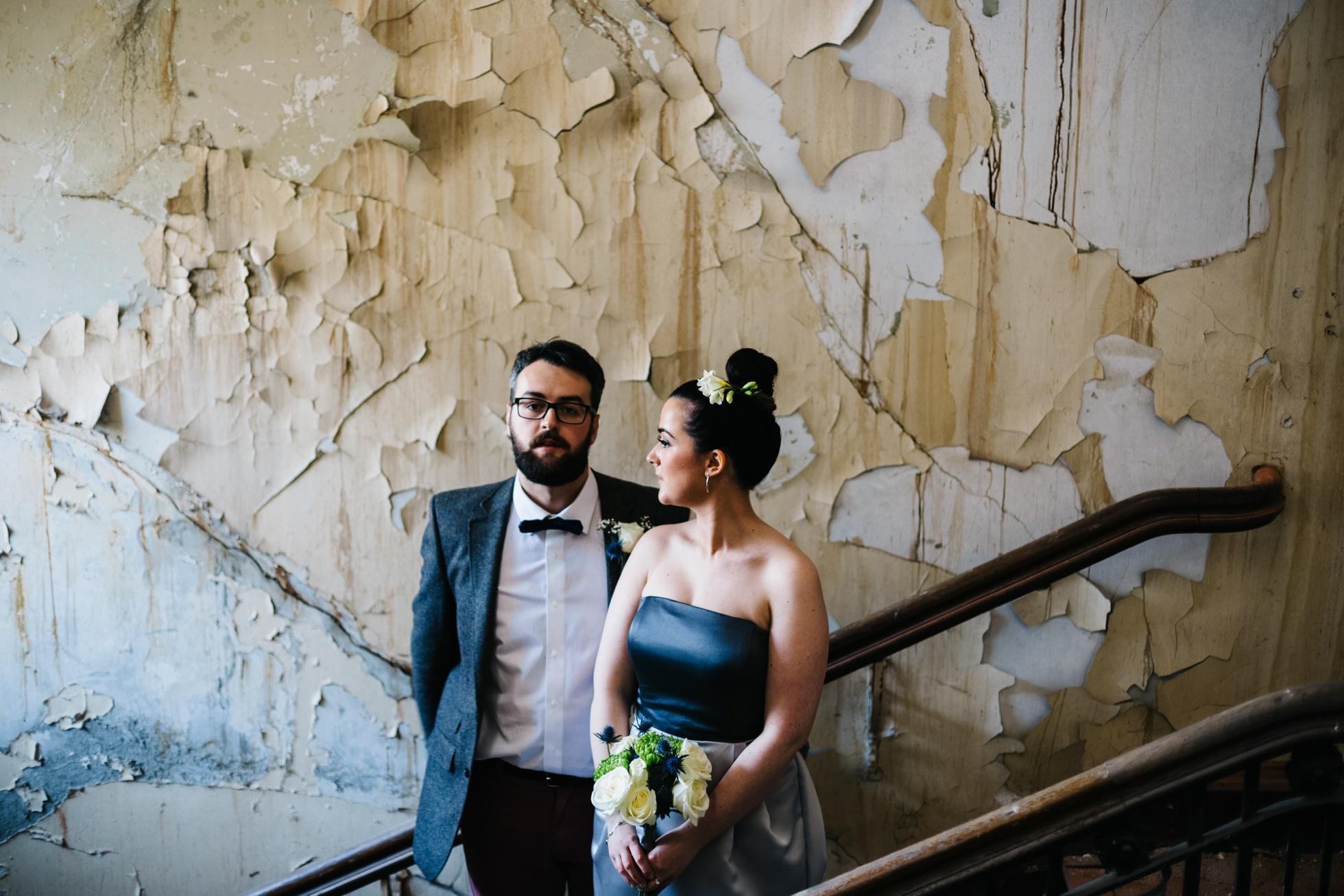 wedding photographer northern ireland, city wedding