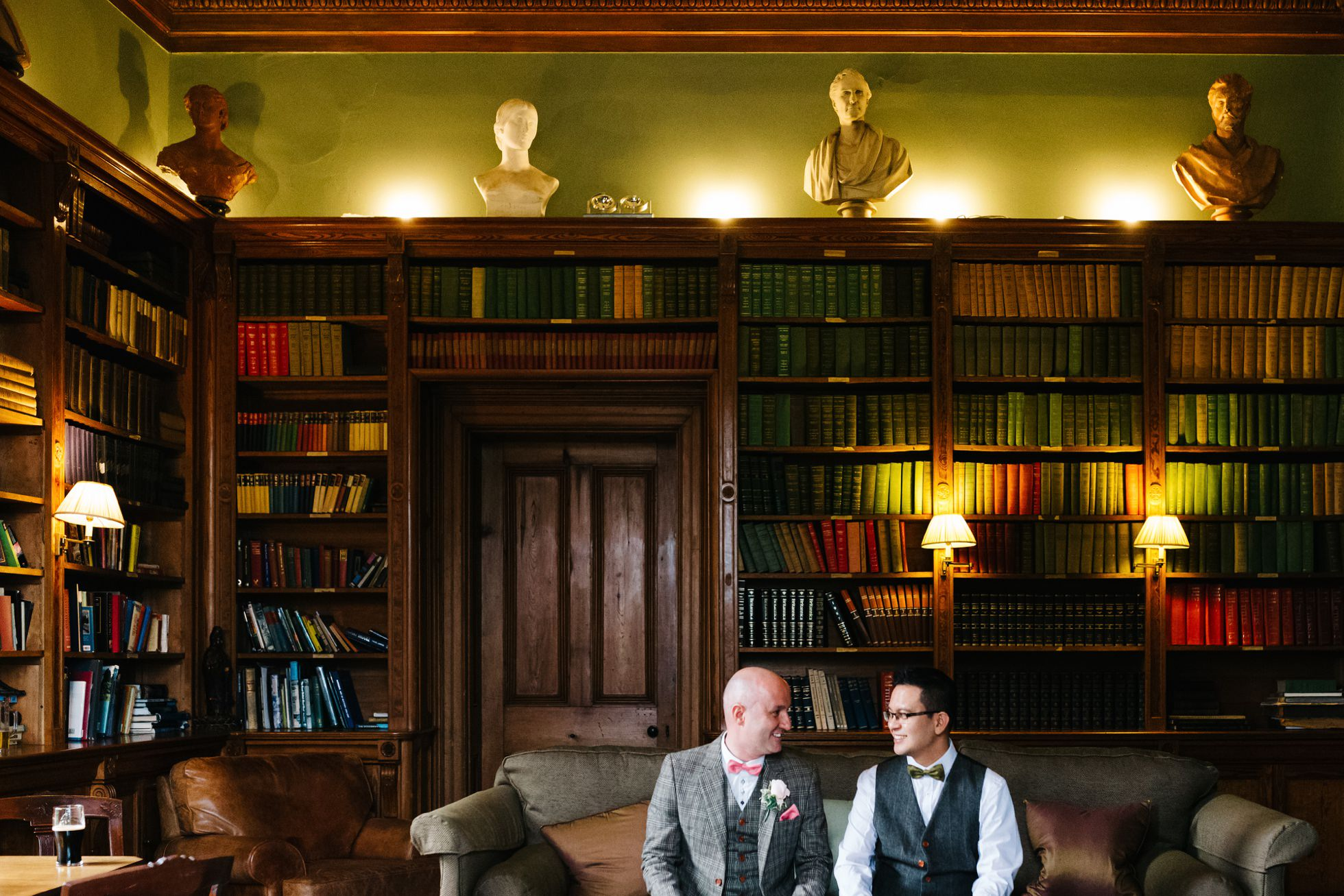destination same sex wedding photographer ireland, castle leslie