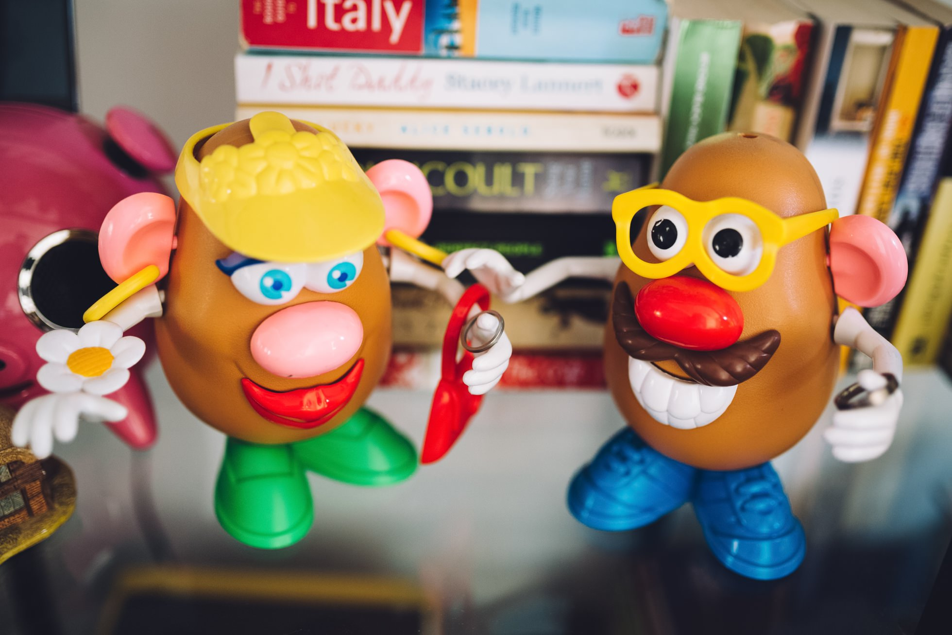 wedding photographer northern ireland, mr potato head, funny