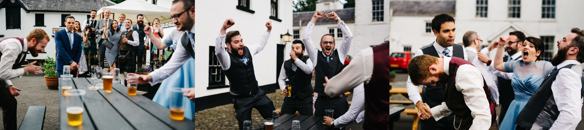 wedding photographer northern ireland, drinking games, tippy cup