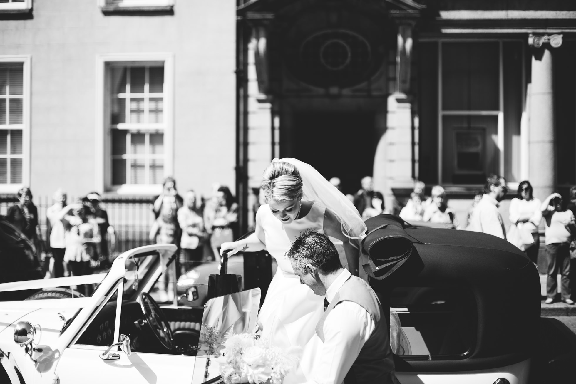 wedding photographer northern ireland, black and white